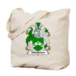 Mickleton Family Crest Tote Bag