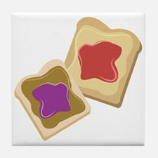 Bread And Jam Tile Coaster
