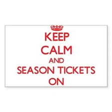 Keep Calm and Season Tickets ON Decal