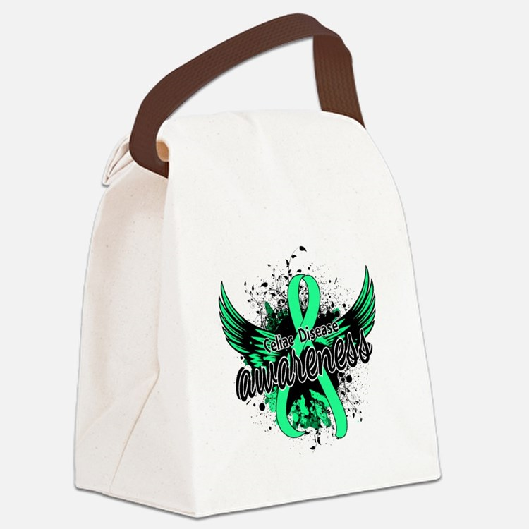Celiac Disease Awareness 16 Canvas Lunch Bag