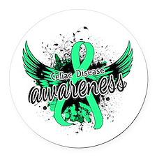 Celiac Disease Awareness 16 Round Car Magnet