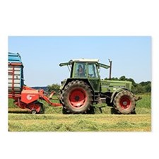 Tractor at work on El Cam Postcards (Package of 8)