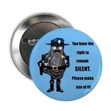 "OyciferHalfshell-silent 2.25"" Button (100 pack)"