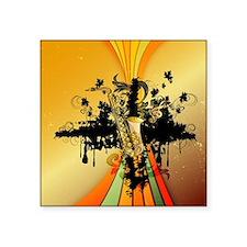 Music, saxophone Sticker
