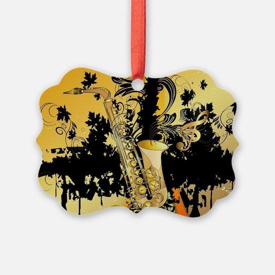 Music, saxophone Ornament