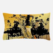 Music, saxophone Pillow Case
