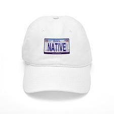 Iowa Plate - NATIVE Baseball Baseball Cap