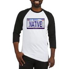 Iowa Plate - NATIVE Baseball Jersey