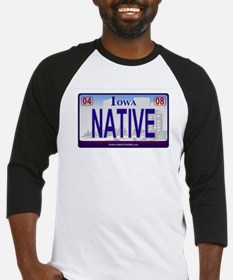 Iowa Plate - NATIVE Baseball Jersey