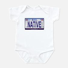 Iowa Plate - NATIVE Infant Bodysuit