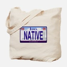 Iowa Plate - NATIVE Tote Bag