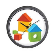Buildings Wall Clock