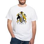 Mervyn Family Crest White T-Shirt