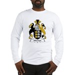 Mervyn Family Crest Long Sleeve T-Shirt