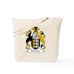 Mervyn Family Crest Tote Bag