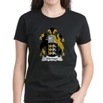 Mervyn Family Crest Women's Dark T-Shirt
