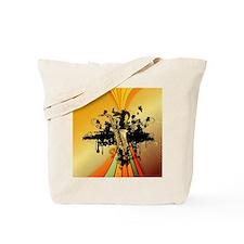 Music, saxophone Tote Bag