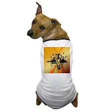 Music, saxophone Dog T-Shirt