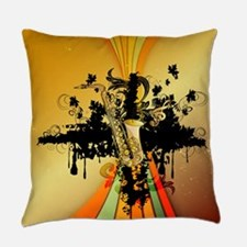 Music, saxophone Everyday Pillow