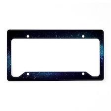 Milky Way License Plate Holder