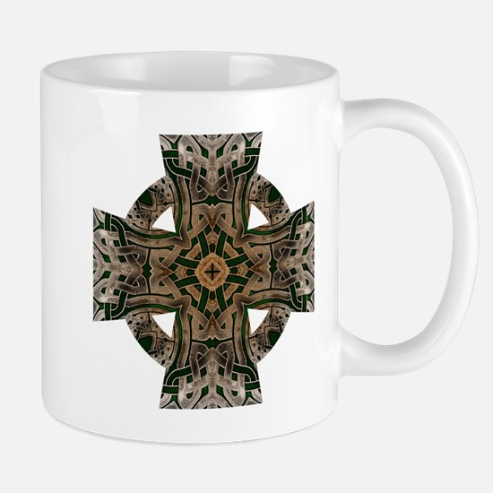 Stone Celtic Knot Celtic Cross Mug