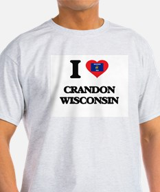 I love Crandon Wisconsin T-Shirt