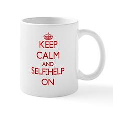 Keep Calm and Self-Help ON Mugs