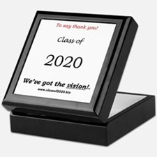 "Class of 2020 Keepsake Box ""To say thank you"""