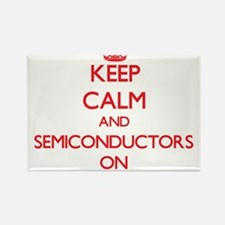 Keep Calm and Semiconductors ON Magnets