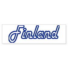 Finland Harlowe Bumper Bumper Sticker