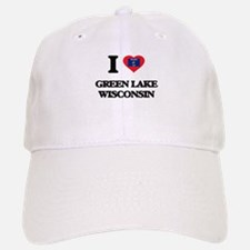 I love Green Lake Wisconsin Baseball Baseball Cap
