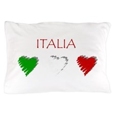 Italia Hearts Pillow Case