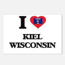 I love Kiel Wisconsin Postcards (Package of 8)
