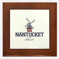 Nantucket - Massachusetts. Framed Tile