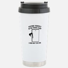 Keeping Yourself In The Fridge Ceramic Travel Mug