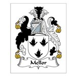 Mellor Family Crest Small Poster