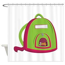 School Bag Shower Curtain