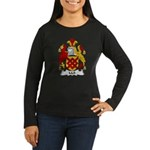 Mell Family Crest Women's Long Sleeve Dark T-Shirt