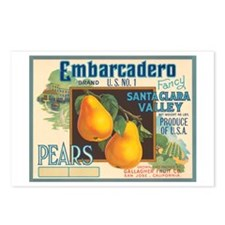 Embarcadero Pears Postcards (Package of 8)