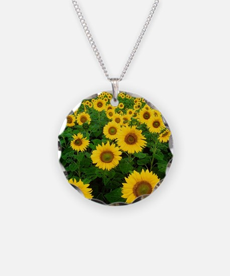 Field of Sunflowers Necklace