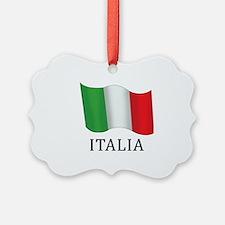 Italia Flag Ornament