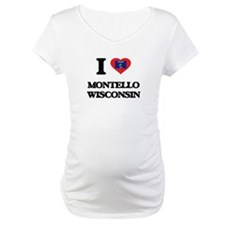 I love Montello Wisconsin Shirt
