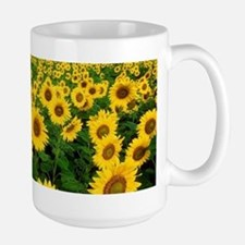 Field of Sunflowers Mugs