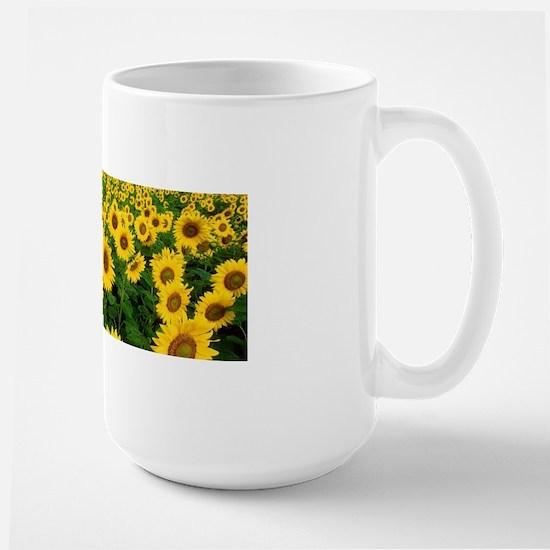 Field of Sunflowers Mugs