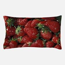 Bushel of Strawberries Pillow Case
