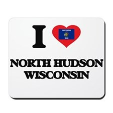 I love North Hudson Wisconsin Mousepad