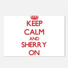 Keep Calm and Sherry ON Postcards (Package of 8)