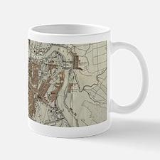 Vintage Map of St Petersburg (1893) Mugs