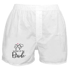 Mother of the Bride - Bird Couple Boxer Shorts
