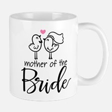 Mother of the Bride - Bird Couple Small Mugs